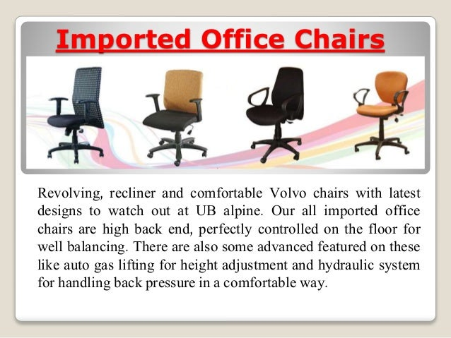 Office cabin partition and Imported office chairs for offices