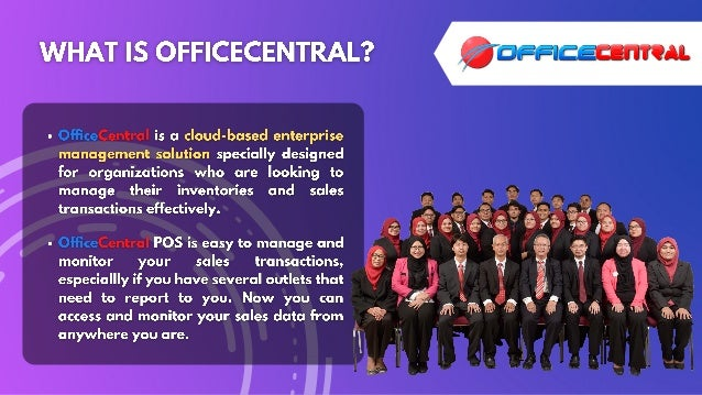 OfficeCentral Point of Sales (POS) Slide 2