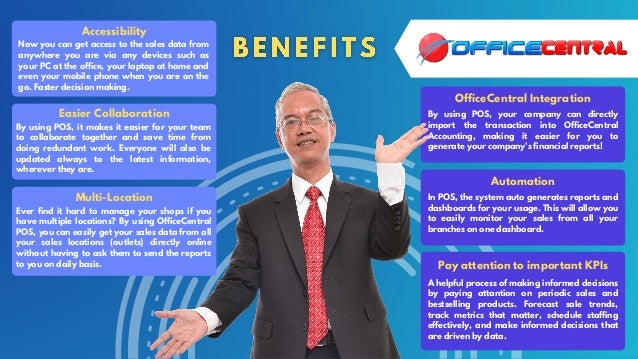 OfficeCentral Point of Sales (POS) Slide 3