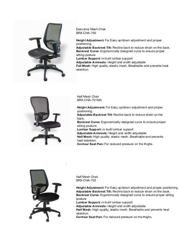 2. Executive Mesh Chair ...