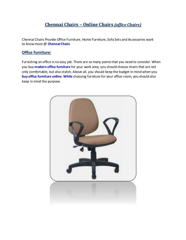 office chairs online chennai india