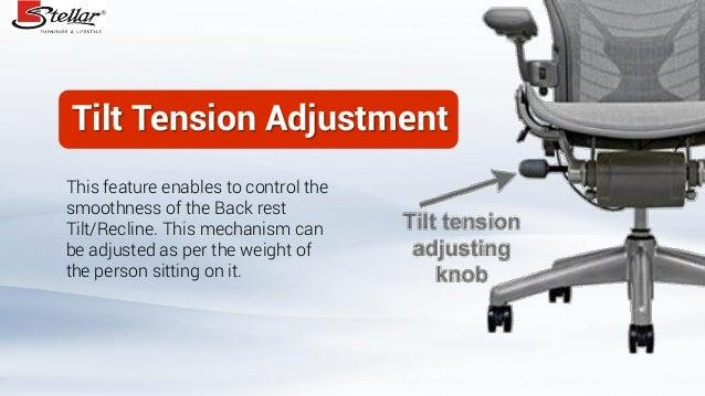 3 Tilt Tension Adjustment