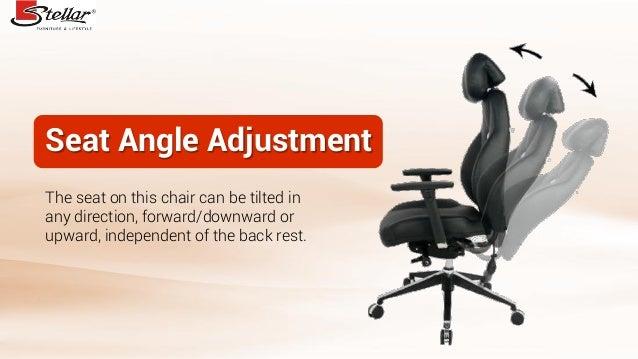 4 Seat Angle Adjustment
