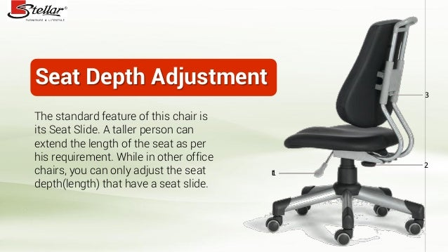 Seat ...  sc 1 st  SlideShare & How to use office chair from Stellar Furniture