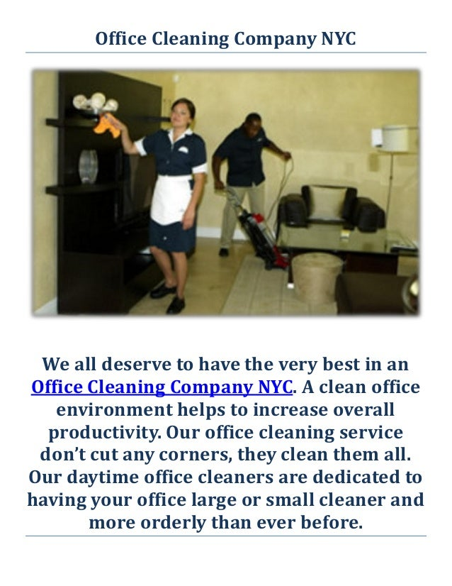 Office Cleaning Company NYC ...