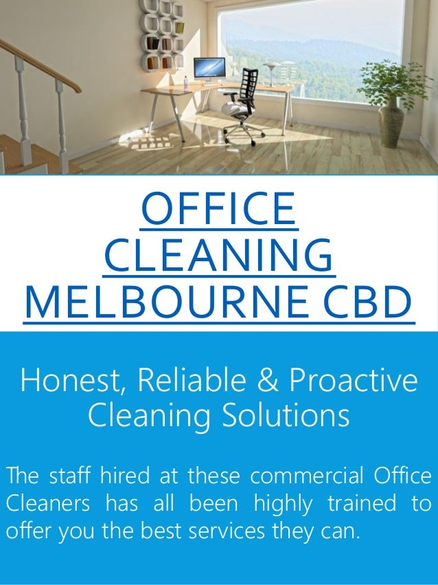 Office Cleaning Melbourne CBD