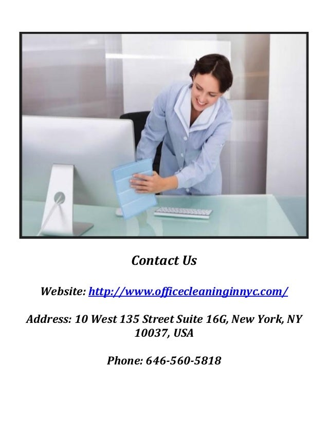 Commercial Cleaning Company NYC; 3.