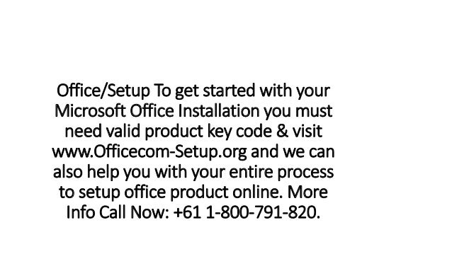 office product key code