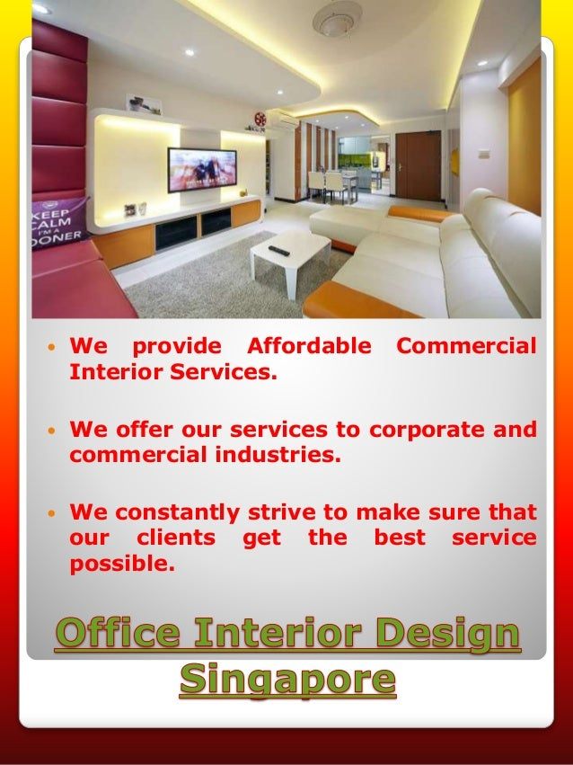 Office renovation singapore for Top 100 interior design firms in singapore