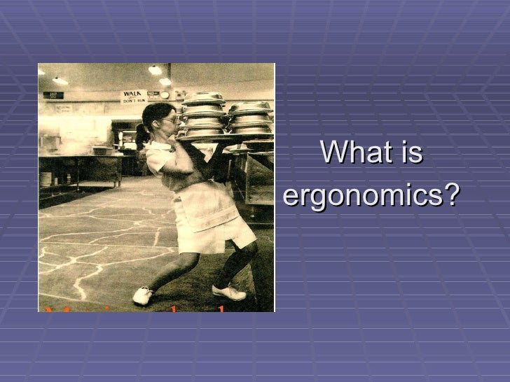 Office Ergonomics Slide 2