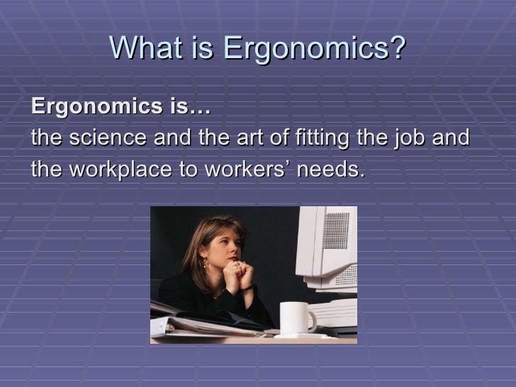 Office Ergonomics Slide 3