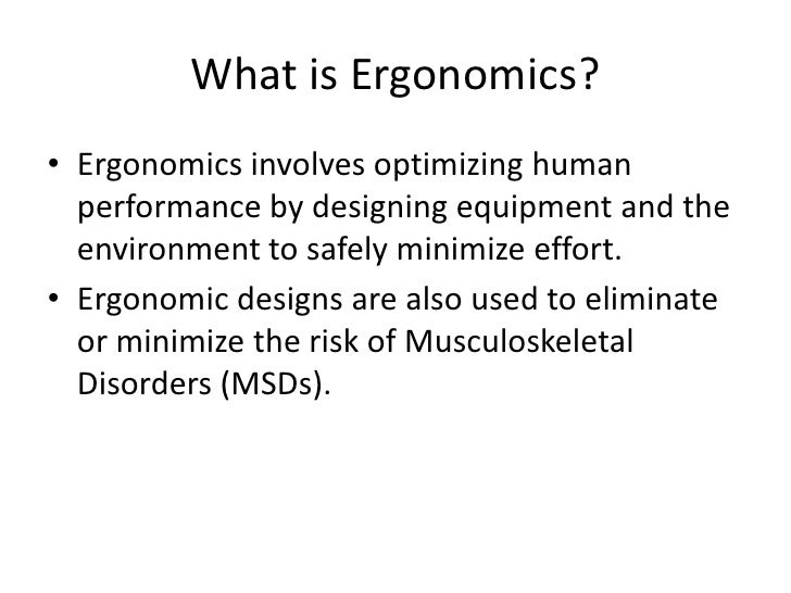 Office Ergonomics Training Slide 2