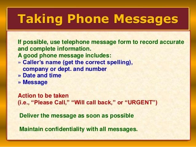 Return phone call etiquette in dating 6