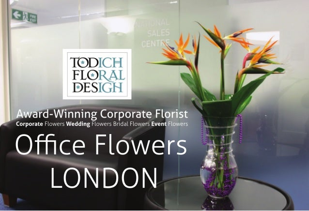 Office Flowers LONDON