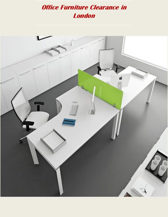 office furniture clearance service in london