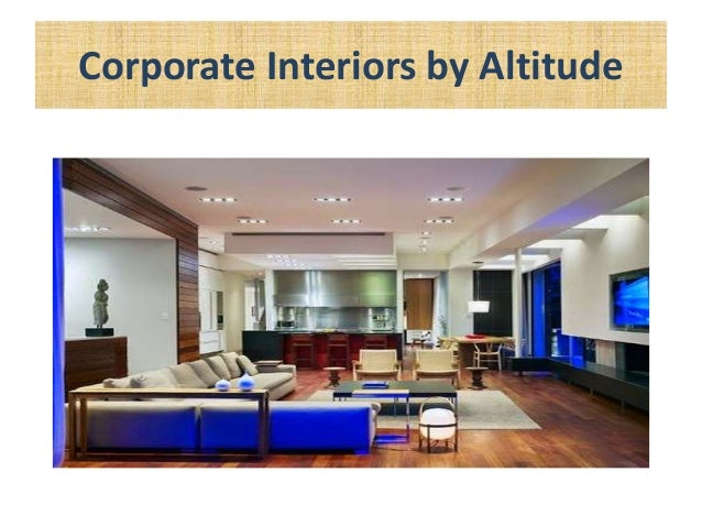 Interior design firms office interiors design by altitude for Model home interior design firms