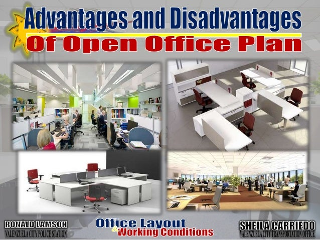 office layouts and working conditions. Black Bedroom Furniture Sets. Home Design Ideas