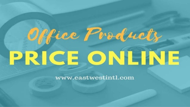Office Products Price Online