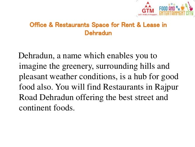 Office Amp Restaurants Space For Rent Amp Lease In Dehradun