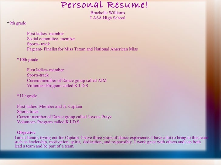 national american miss resume - Resume Ideas