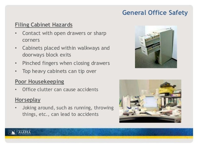 Office Safety Training By Uaf