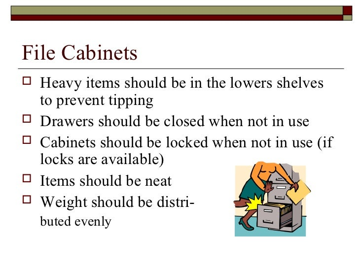 File Cabinet Drawer Dimensions