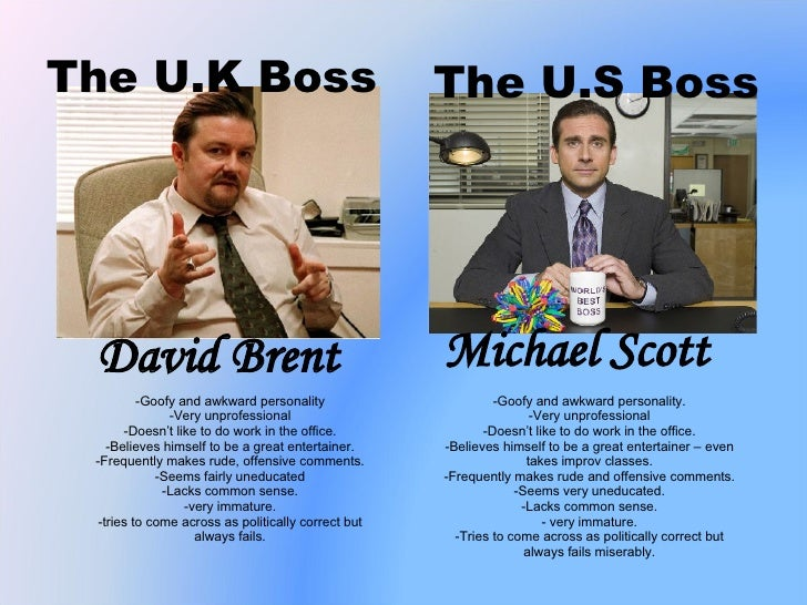 Which version of The Office was better: U.S. or U.K.?
