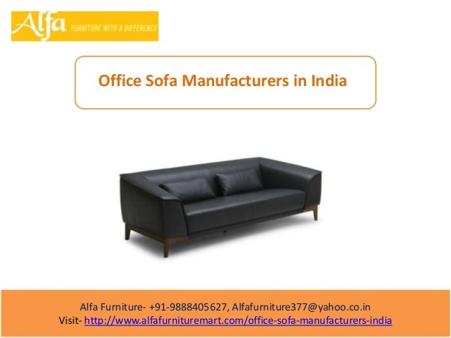 Office Sofa Manufacturers In India