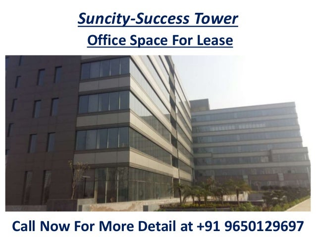 Office Space And Retail Shop For Lease In Suncity Success