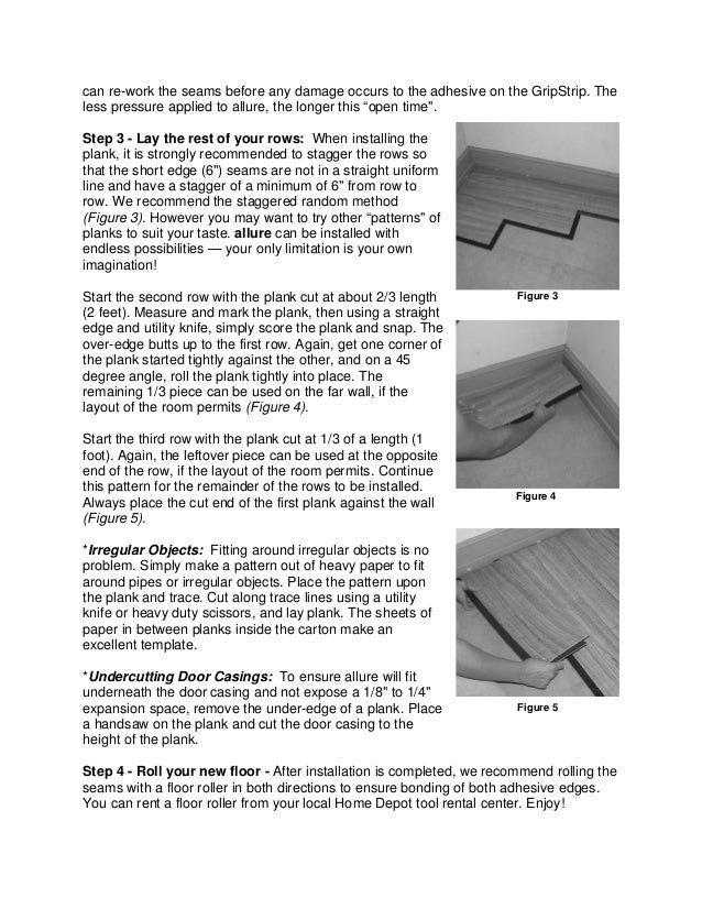 How To Install Allure Gripstrip Flooring Official