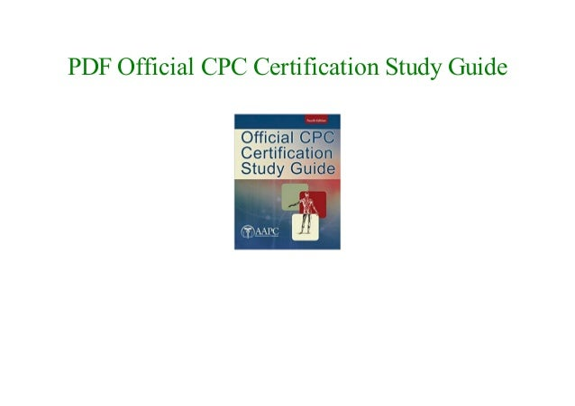 CPC Certification Study Guide
