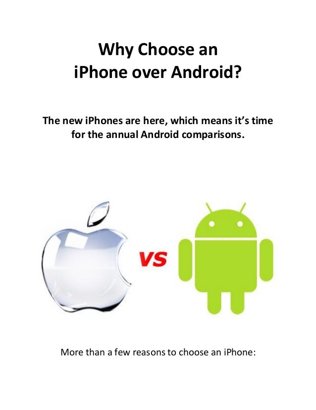 official iphone unlock why choose an iphone over android