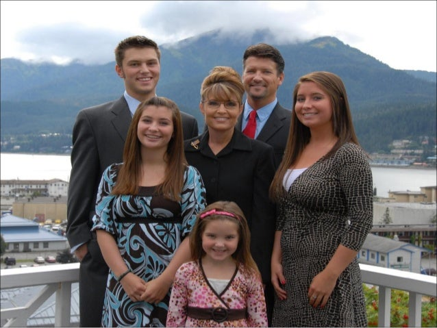 Official Photo Of Palin Family 2007