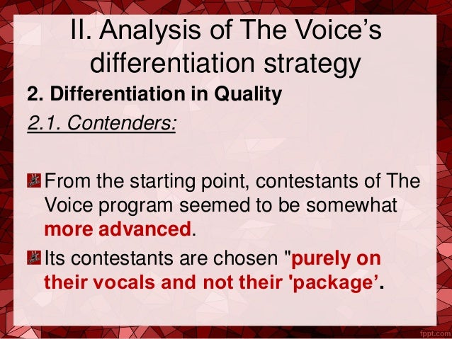voice differentiation Speaker recognition is the identification of a person from characteristics of voices (voice biometrics) it is also called voice recognition there is a difference.