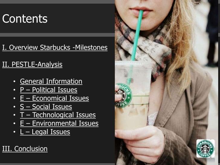 Pestle Ysis Template   Starbucks Pestle Analysis