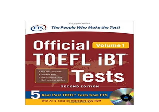 official toefl ibt tests volume 1 second edition free download