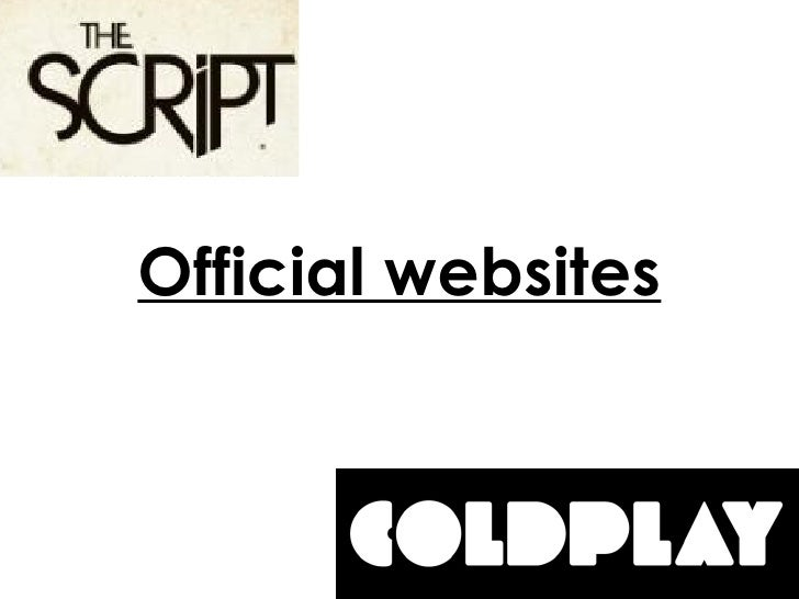 Official websites