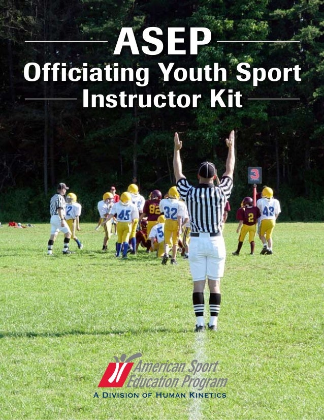 ASEP Officiating Youth Sport Instructor Kit