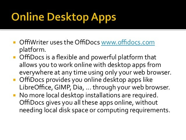 OffiWriter iphone and iPad document editor with OpenOffice