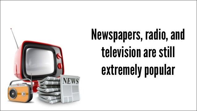 Radio and television mass media