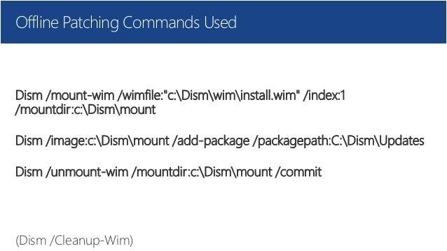 Microsoft Windows 10 Bootcamp - MDT Offline media