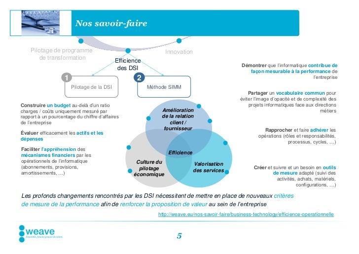 Nos savoir-faire    Pilotage de programme                                         Innovation        de transformation     ...