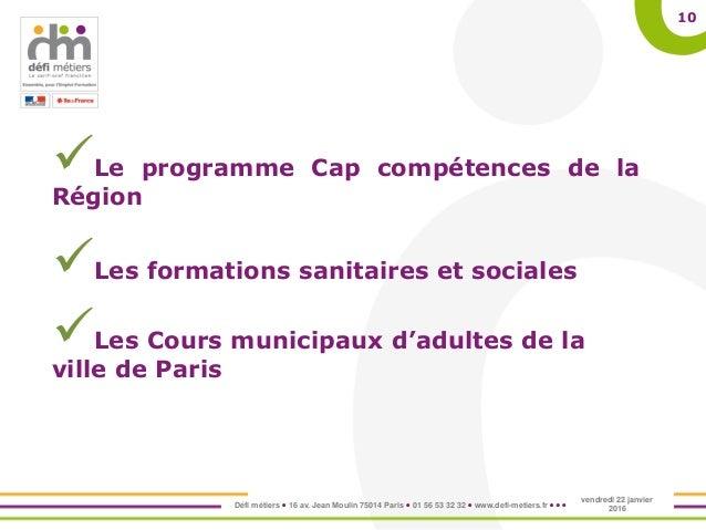 Cours Municipaux D Adultes De La Ville De Paris