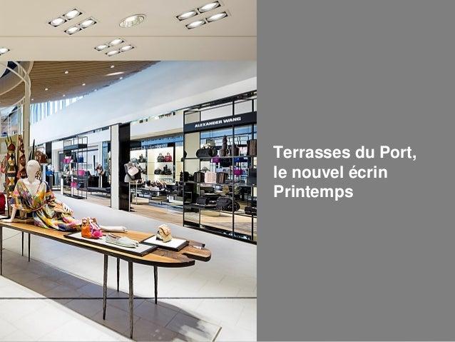 Offre entreprises carte cadeau printemps - Printemps terrasses du port marseille ...