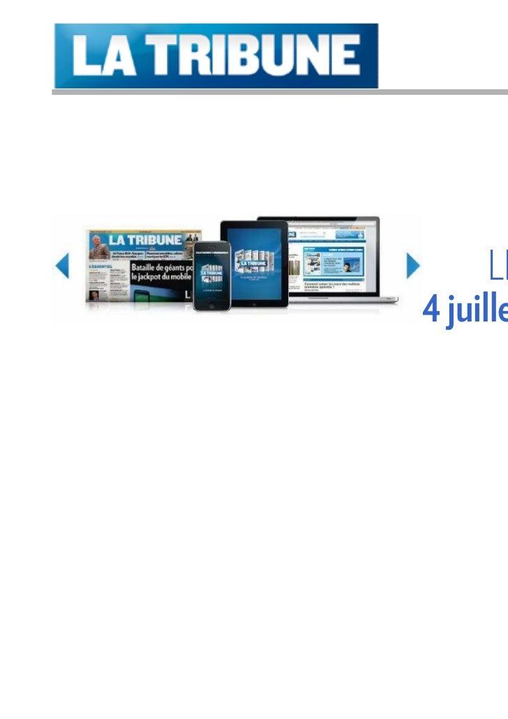 Été 2011      LES OFFRES4 juillet – 26 août      (Publicité commerciale)
