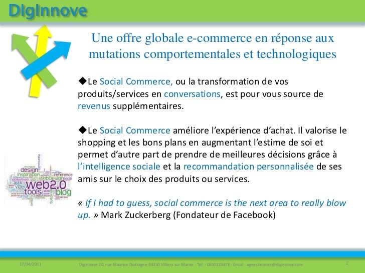 Offre globale de conseil e commerce 2 Slide 2