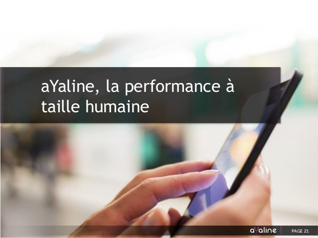 aYaline, la performance à taille humaine PAGE 21