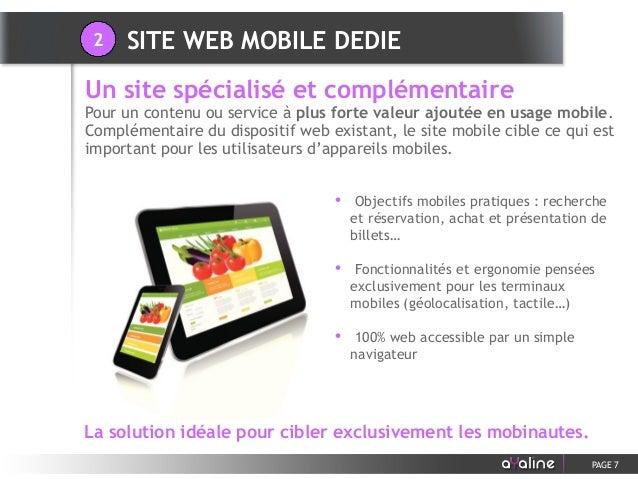 • Objectifs mobiles pratiques : recherche et réservation, achat et présentation de billets… • Fonctionnalités et ergonomie...