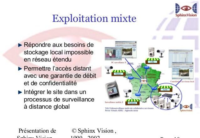 Exploitation mixte  Répondre aux besoins de  stockage local impossible  en réseau étendu  Permettre l'accès distant  avec ...