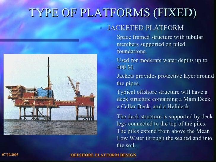 Offshore platform-design